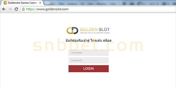 goldenslot user password
